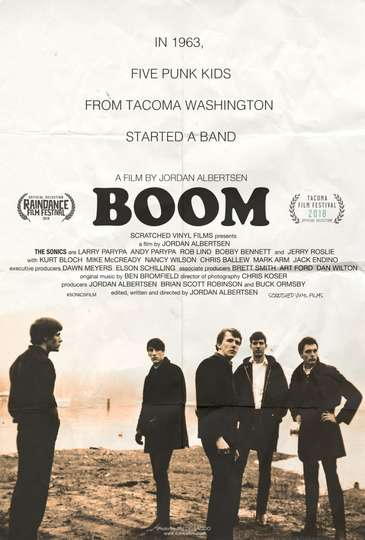 BOOM! A Film About the Sonics poster