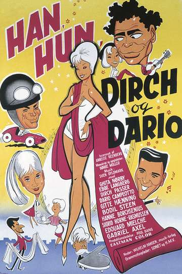 Han, hun, Dirch og Dario poster