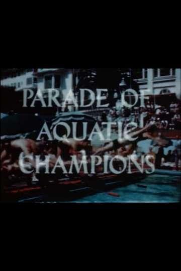 Parade of Aquatic Champions poster