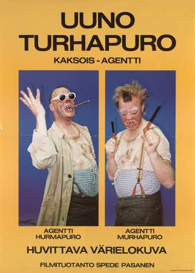 Uuno Turhapuro - kaksoisagentti