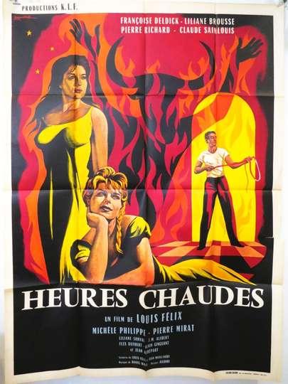 Heures Chaudes poster