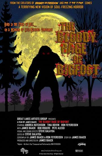 Bloody Rage of Bigfoot poster