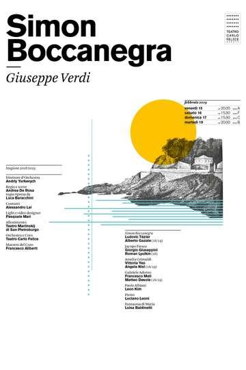 Verdi: Simon Boccanegra poster