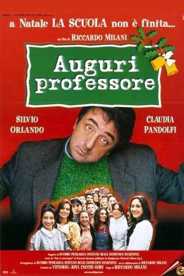Auguri professore poster