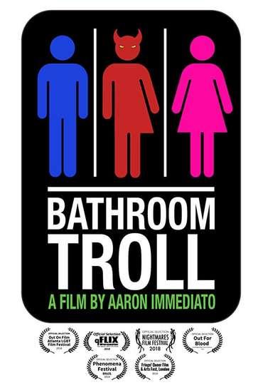 Bathroom Troll poster