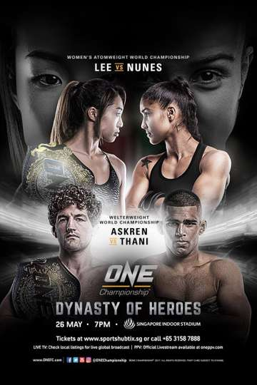 ONE Championship 54: Dynasty of Heroes poster