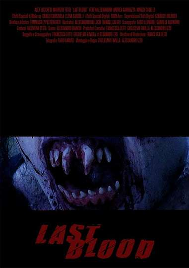 Last Blood poster