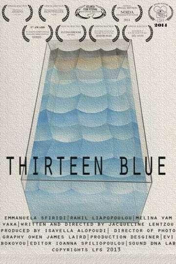 Thirteen Blue poster