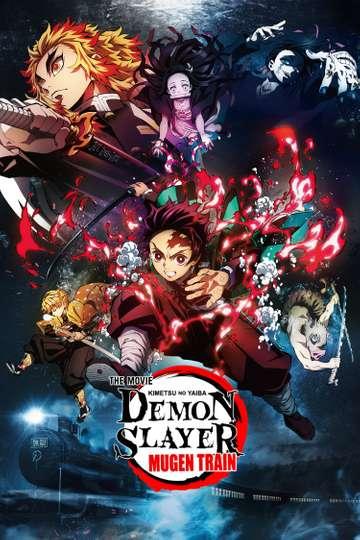 Demon Slayer -Kimetsu no Yaiba- The Movie: Mugen Train poster