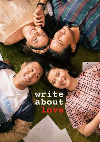 Write About Love poster