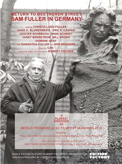 Return to Beethoven Street: Sam Fuller in Germany poster