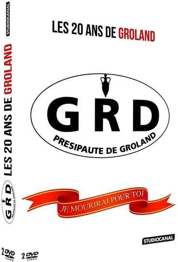 Les 20 ans de Groland poster