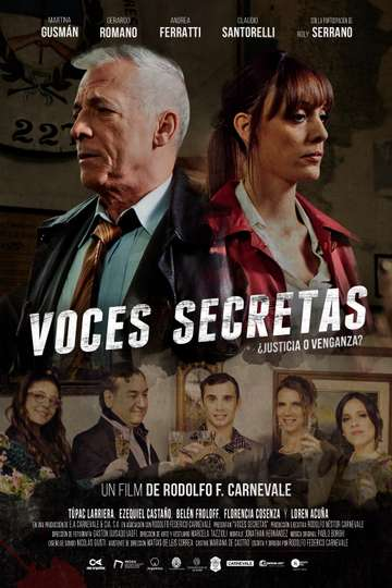 Voces secretas poster
