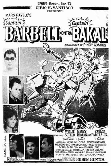 Captain Barbell kontra Captain Bakal poster