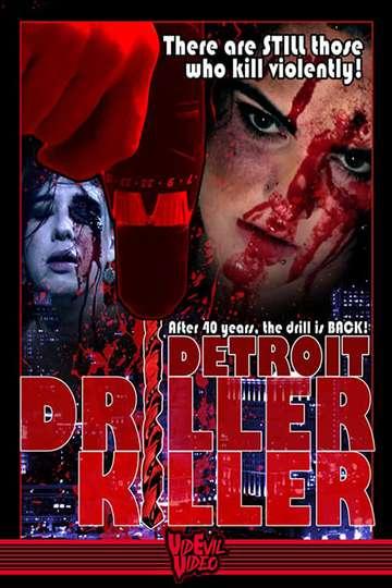 Detroit Driller Killer poster