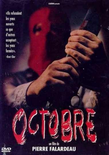 Octobre poster