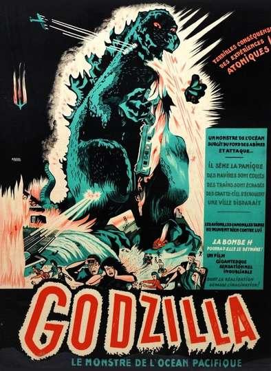 Godzilla Le Monstre de L'Océan Pacifique poster