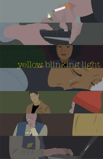 Yellow Blinking Light
