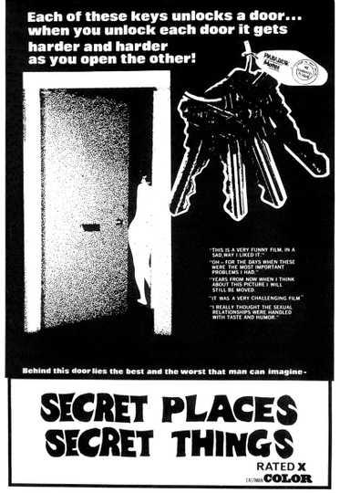 Secret Places, Secret Things Poster