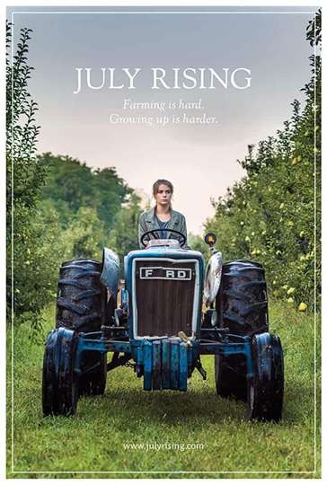 July Rising poster