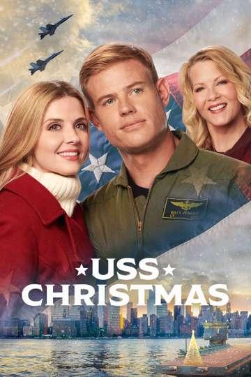 USS Christmas poster