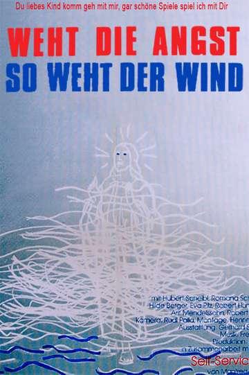 Weht die Angst, so weht der Wind poster