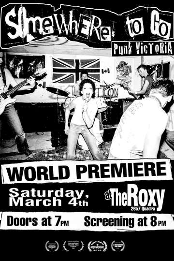 Somewhere To Go: Punk Victoria poster