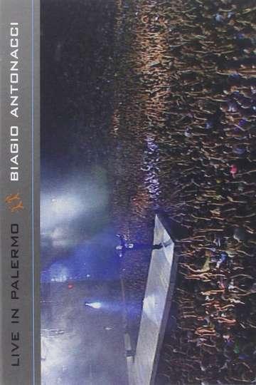 Biagio Antonacci - Live in Palermo poster