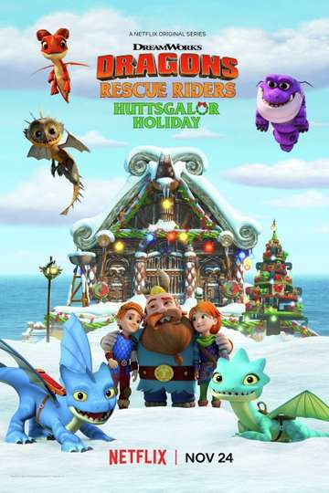 Dragons: Rescue Riders: Huttsgalor Holiday poster
