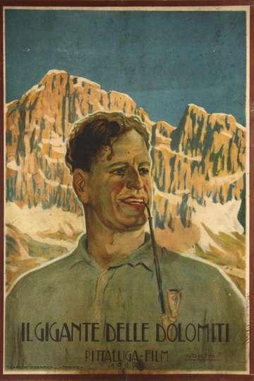Il gigante delle Dolomiti poster