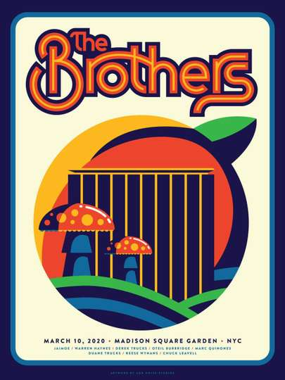 The Brothers - Madison Square Garden 3/10/2020 poster