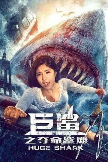 Huge Shark poster