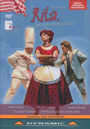 Donizetti: Rita, ou Le mari battu poster