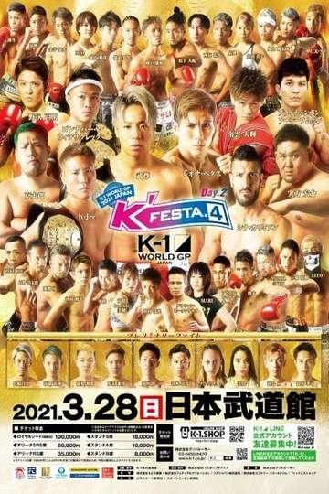 K-1 World GP K'FESTA 4: Day 2 poster