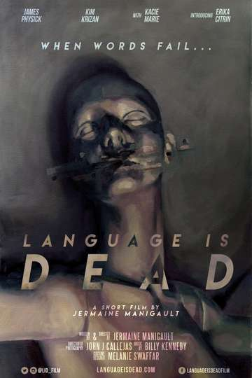 Language is Dead poster