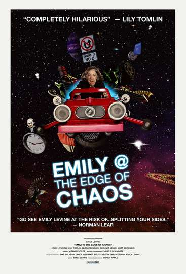 Emily @ the Edge of Chaos poster