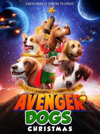 Avenger Dogs Christmas poster