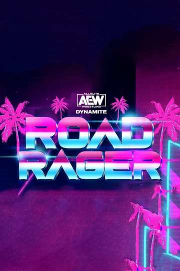 AEW Road Rager poster