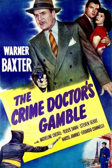 The Crime Doctor's Gamble poster