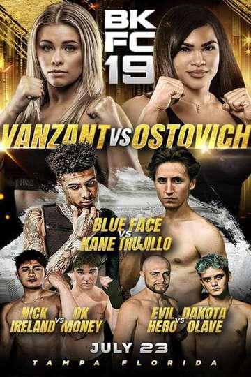 BKFC 19: Paige VanZant vs Rachael Ostovich poster