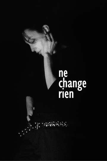 Change Nothing poster