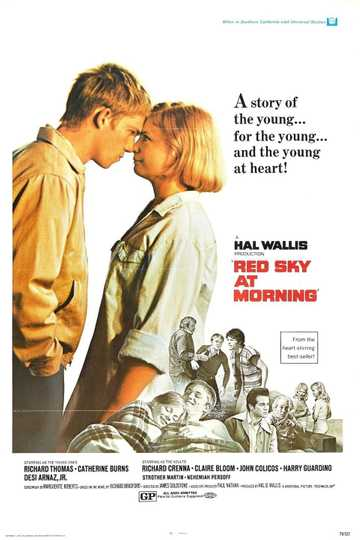 Red Sky at Morning Poster