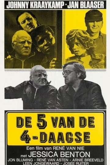 De Vijf van de Vierdaagse poster