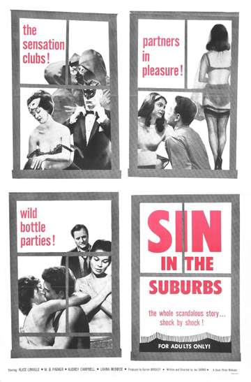 Sin in the Suburbs poster