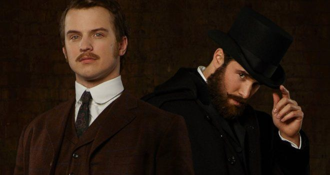Freddie Stroma and Josh Bowman in TIME AFTER TIME