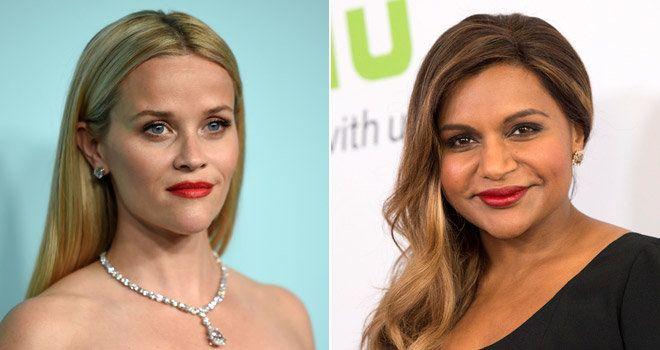 Reese Witherspoon Mindy Kaling