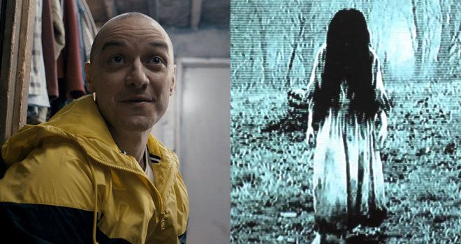 Split is No. 1 at the box office for a third week, Rings takes second
