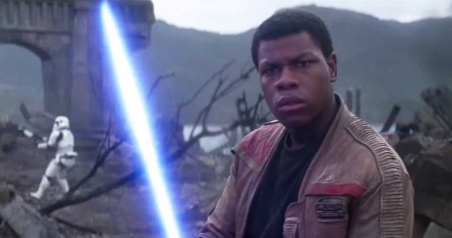 John Boyega Gives Surprise Jedi Lessons to Kids at His Old School