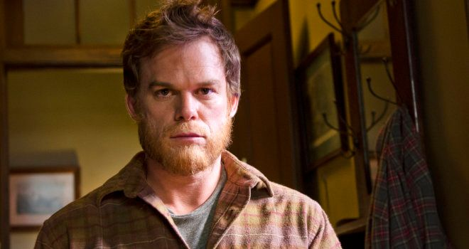 """This image released by Showtime shows Michael C. Hall as Dexter Morgan in a scene from the series finale of """"Dexter.""""  (AP Photo/Showtime, Randy Tepper)"""