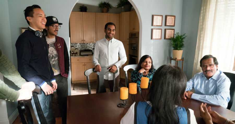 Master of None behind the scenes